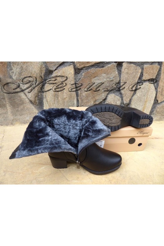 Lady boots VENUS 18-2426 black pu