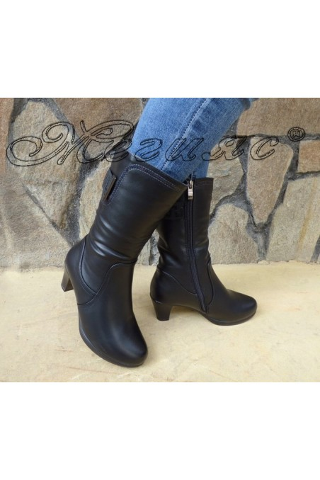 Lady boots VENUS 18-2427 black pu
