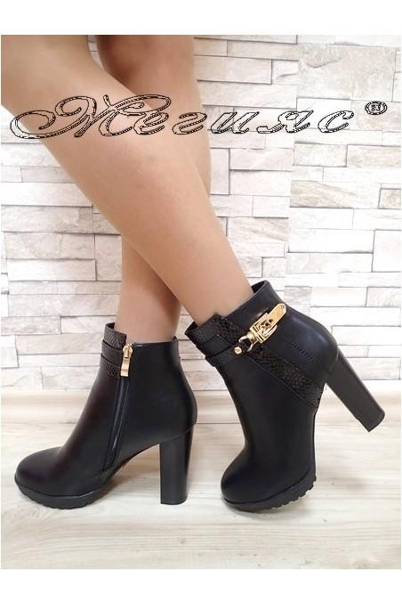 Lady boots Christine 2017-200 black pu