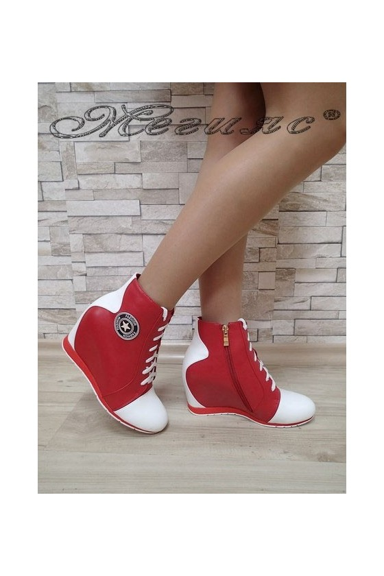 Lady boots Carol 20W17-126 red pu