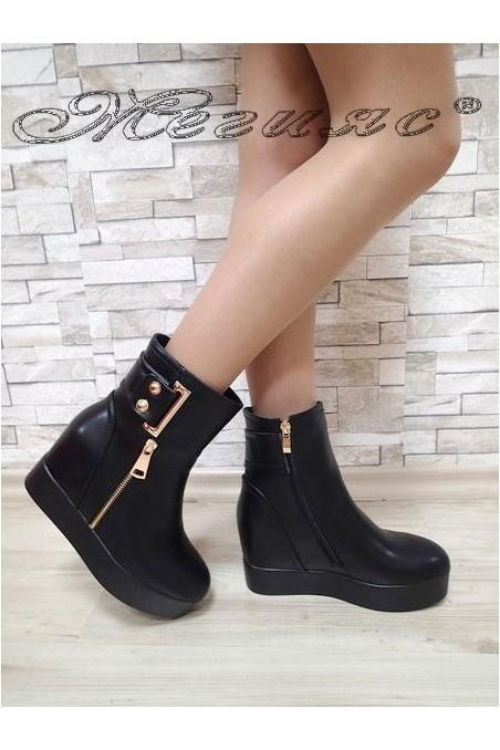 Lady boots Carol 2017-158 all black