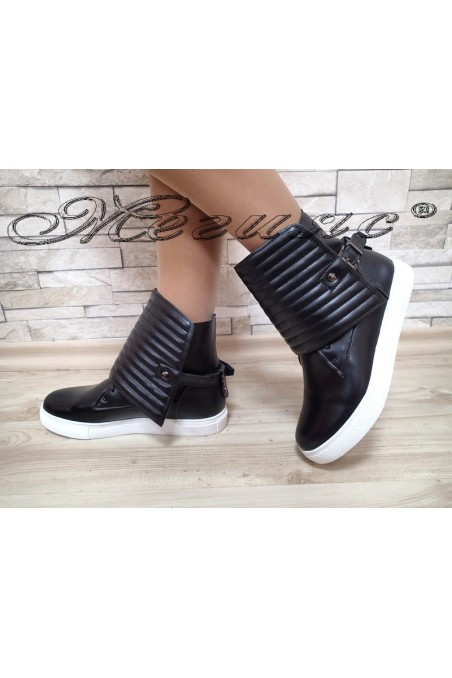 Lady sport boots Christine 20W17-241 black pu
