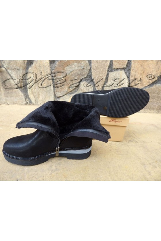 Carol 19-1067   Women boots black pu