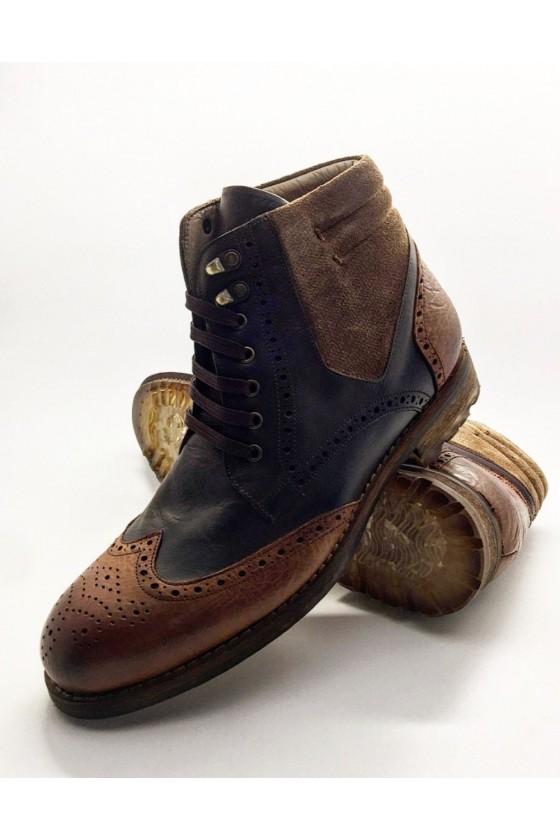 6604 Men boots brown...