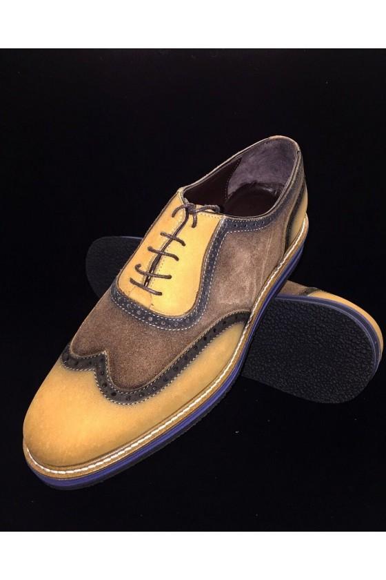 """600 Мъжки обувки """"Оксфорд"""" от естествена кожа"""