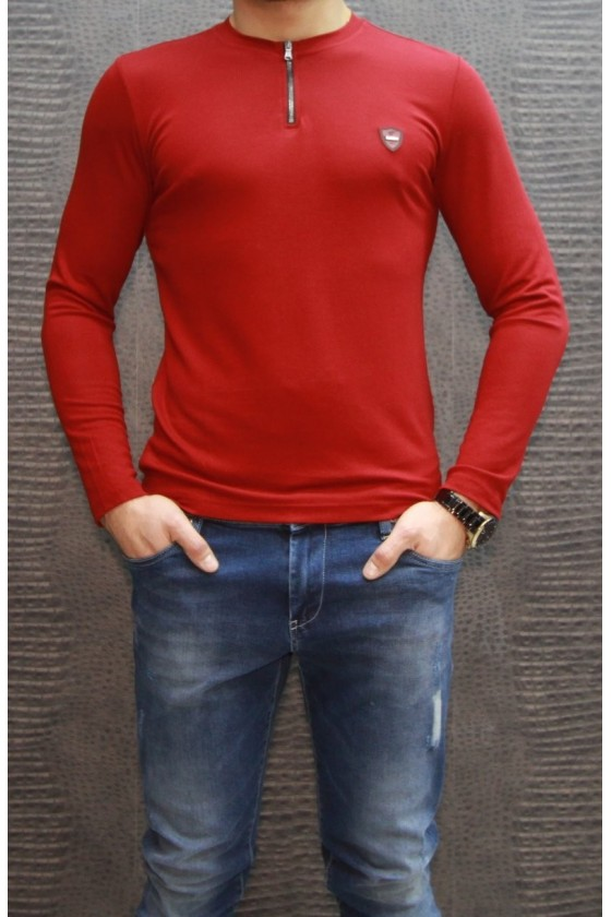 90170 06 RED SHIRT WITH LONG SLEEVES
