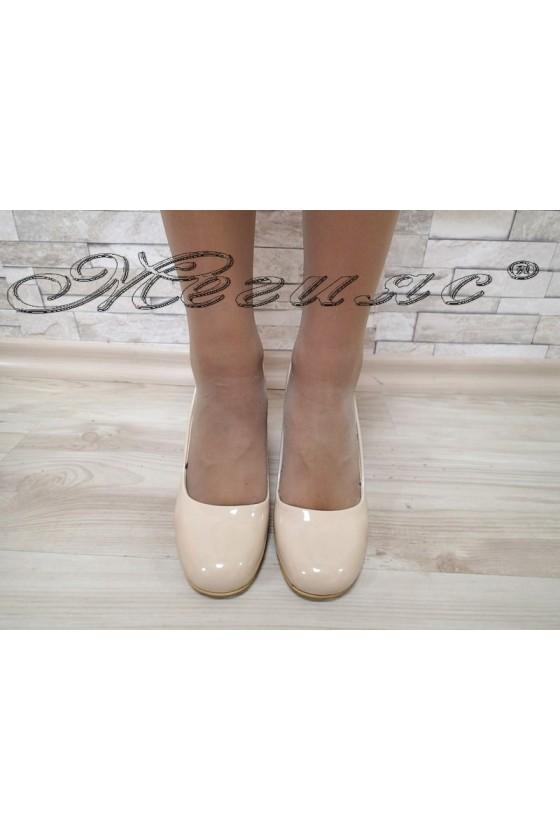 Lady shoes 289 beige