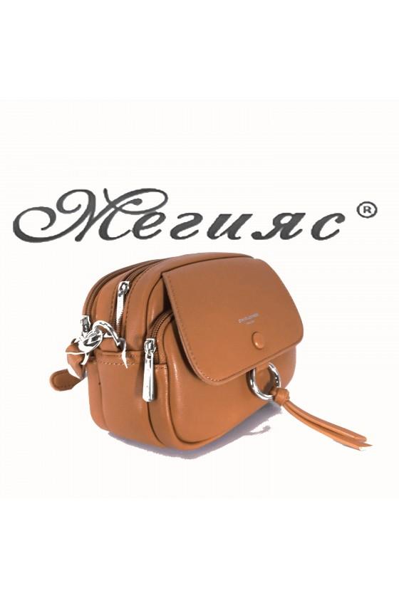 6277 Lady bag  brown pu