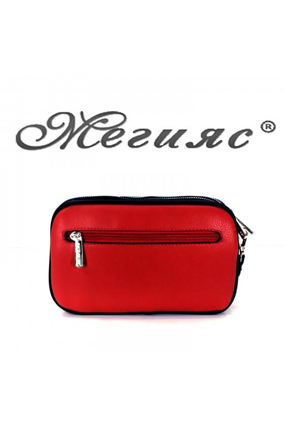 5666 Lady bag red pu