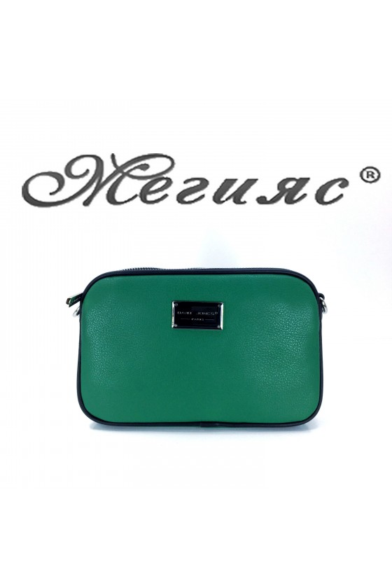 5666 Lady bag green pu