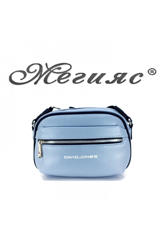6208 Lady sport bag blue pu