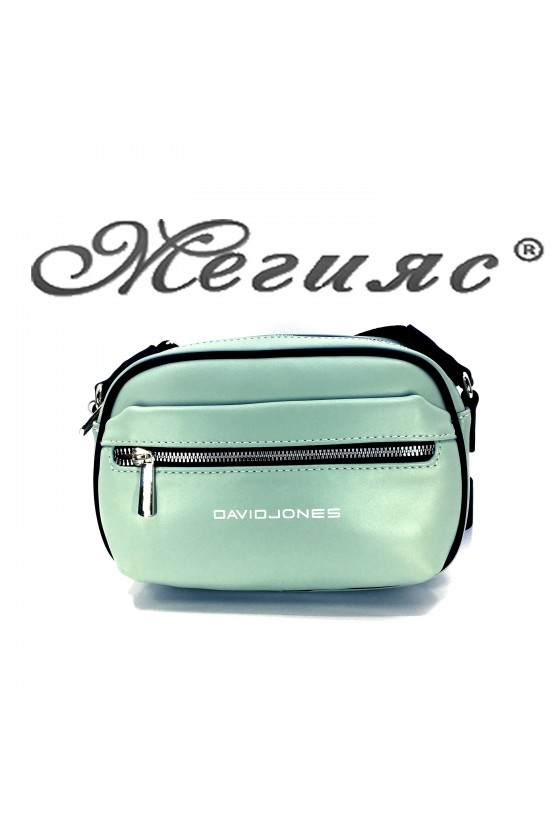 6208 Lady sport bag lt green pu