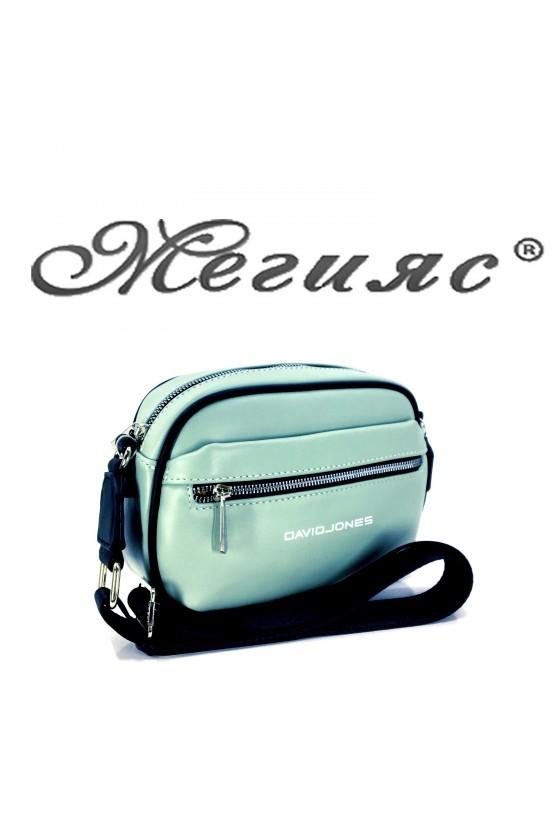 6208 Lady sport bag lt green pu