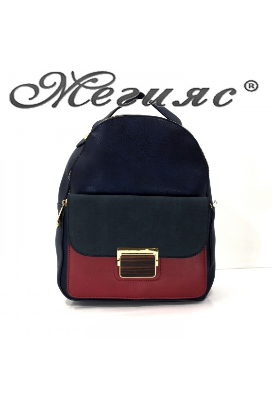 2009 Lady sport bag blue pu