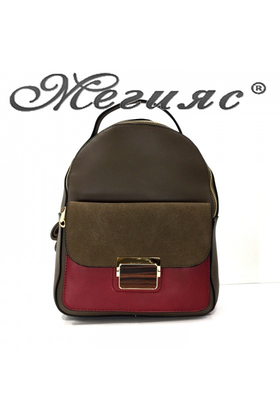 2009 Lady sport bag brown pu