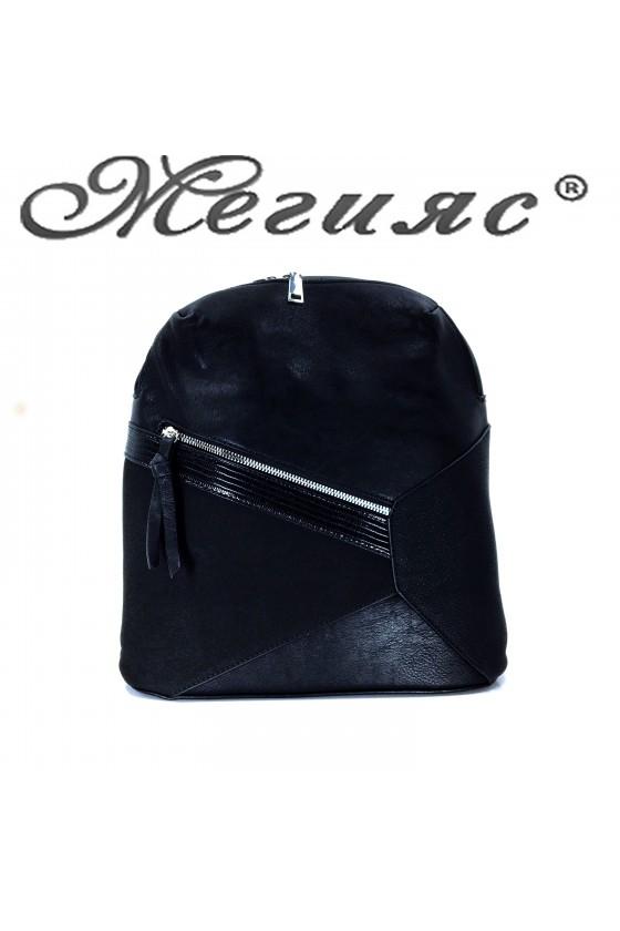 2278 Lady sport bag black pu