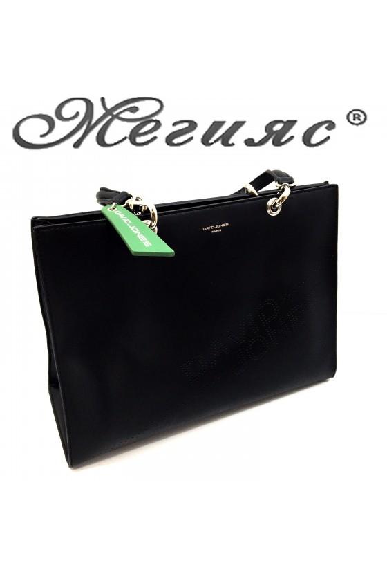 6223 Lady bag black pu