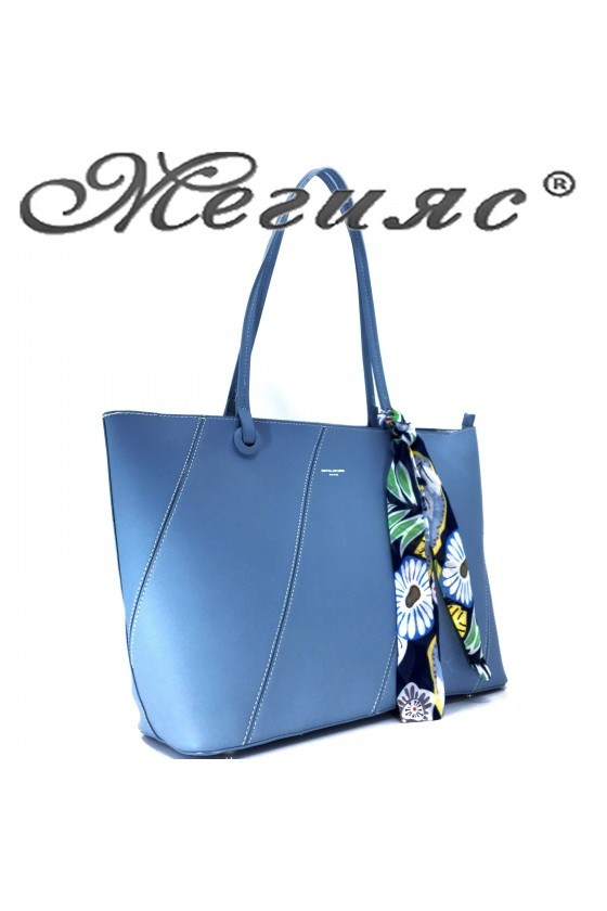 5911 Lady bag blue pu