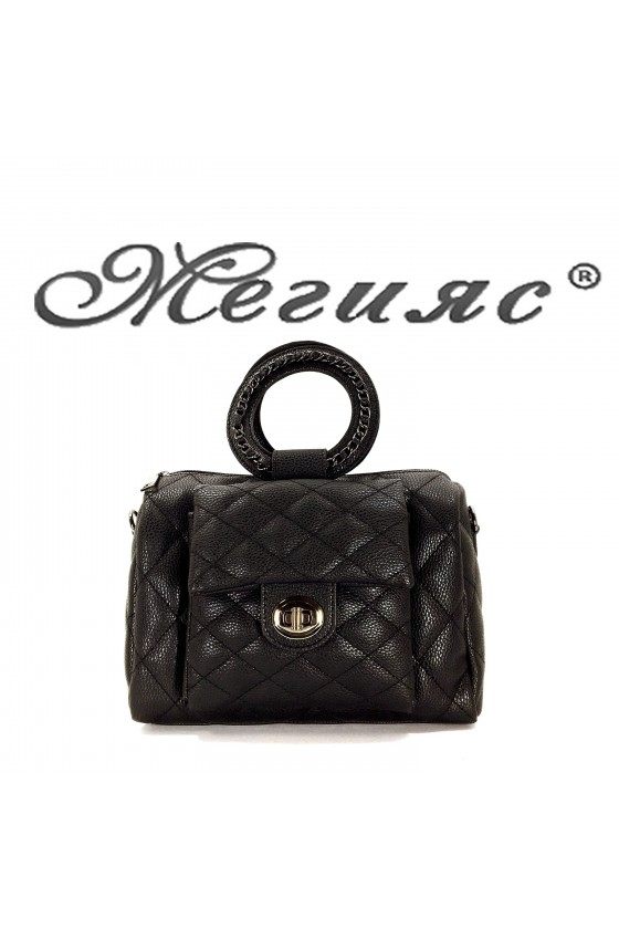 279 Lady bag  black pu