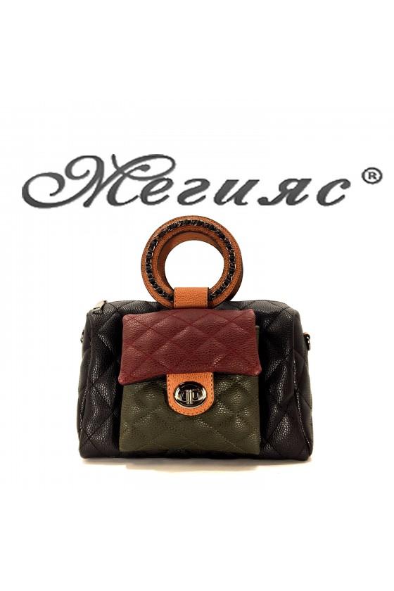 279 Дамска чанта от еко кожа