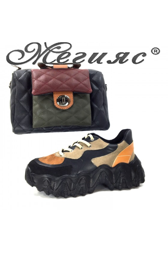 02-1 Lady sports shoes and bag 279