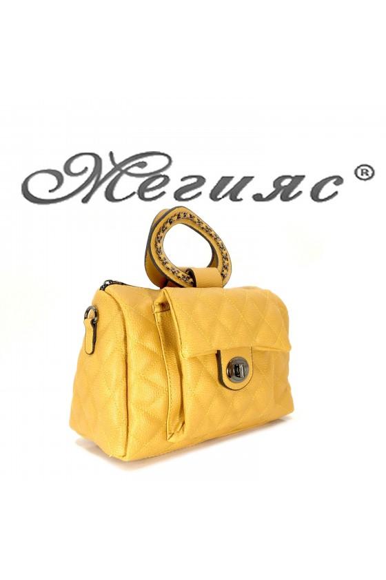 279 Lady bag  yellow