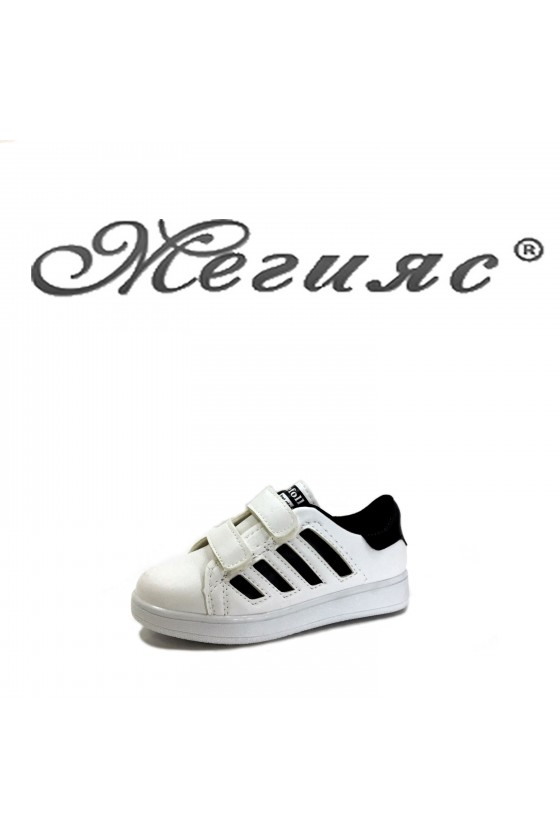 0050 Children's shoes white and black