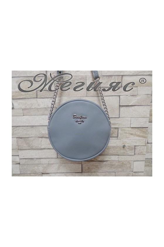 5969 Lady sport bag lt blue pu