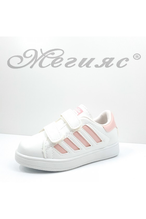 0050 Children's shoes white and pink