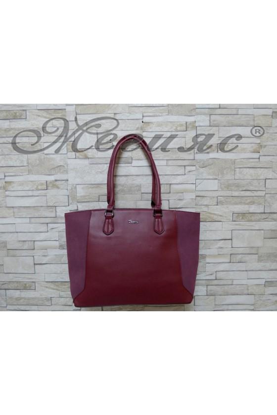 5391 Lady bag bordo pu