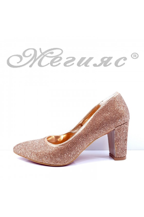 1293 Lady shoes rose gold...