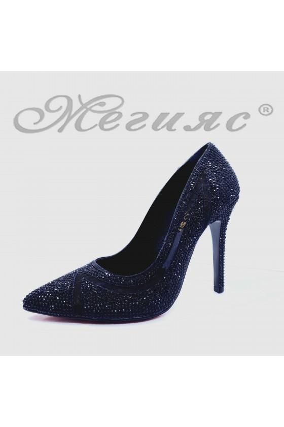 1655 Lady shoes black high heels