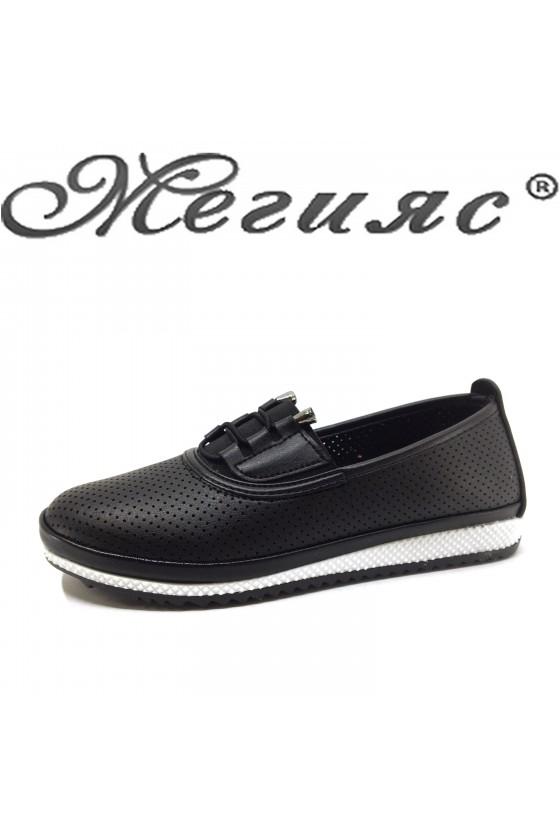 Дамски обувки ежедневни черни 339