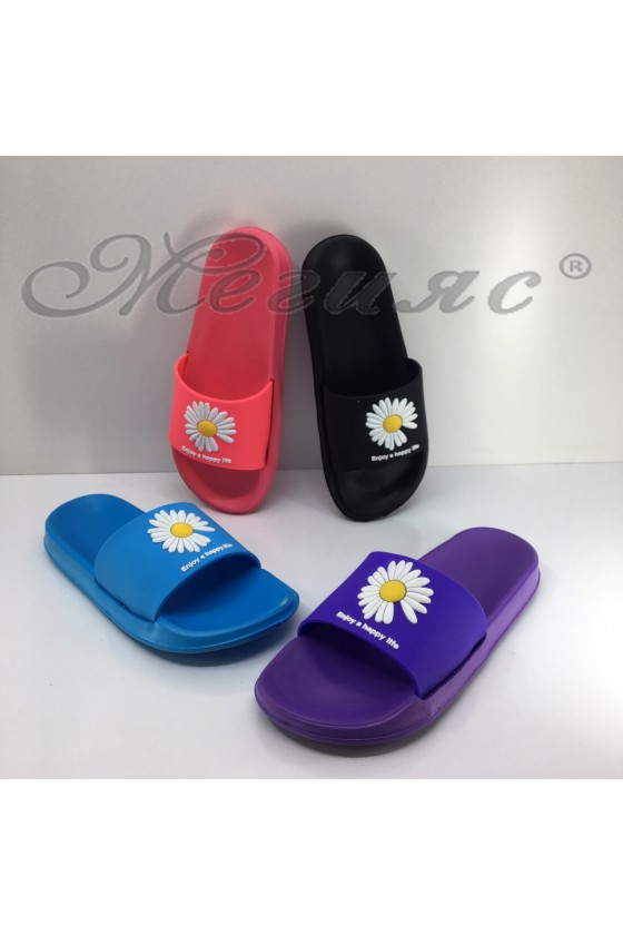 573 Lady flip flops with flower
