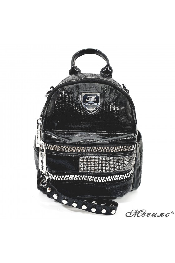 16348 Lady bag black pu