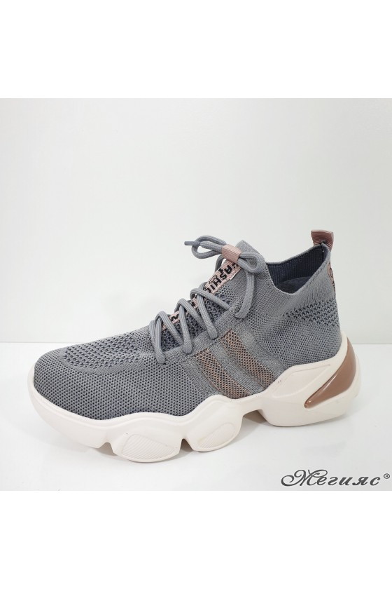 1033 Lady sports shoes grey