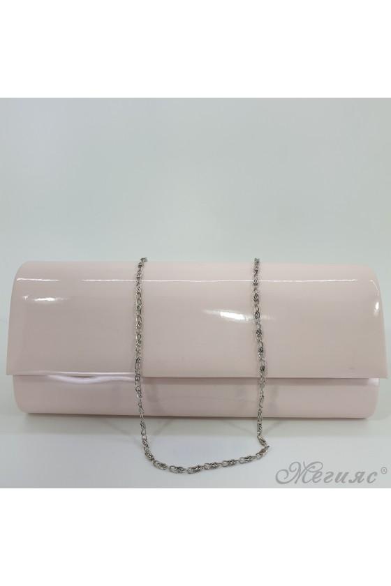 Чанта 373 светла пудра лак
