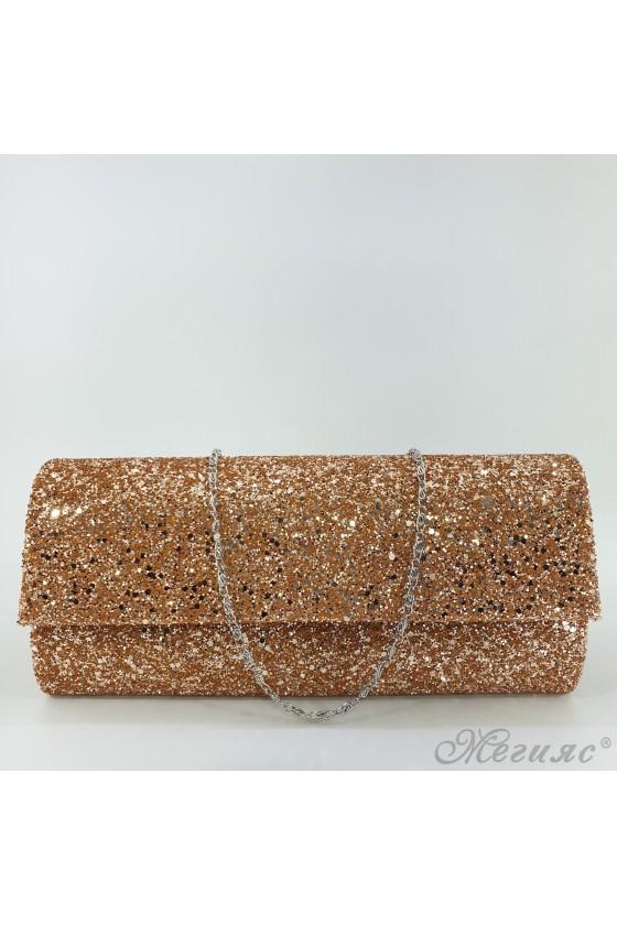 373 Lady bag rose gold brokat