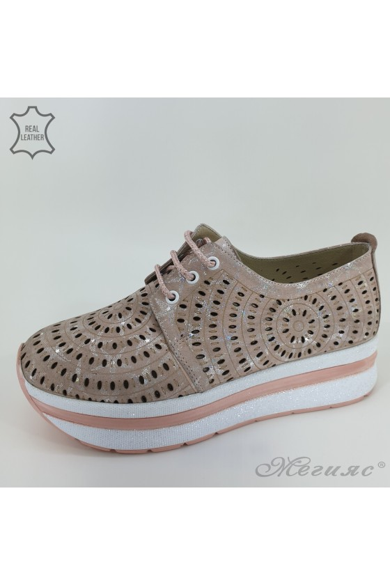 105/71 Lady shoes pudra...