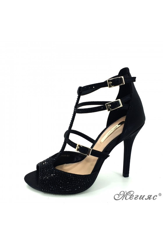 Lady sandals Jeniffer 18s20-51 black