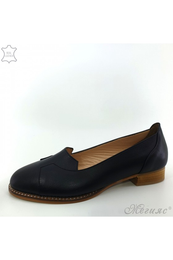 210/1 Lady shoes XXL black leather