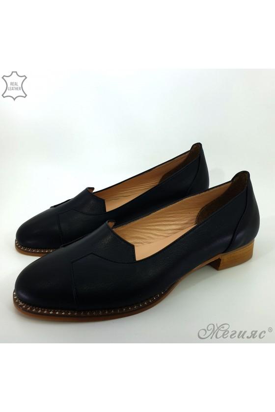 210/1 Lady shoes XXL black leather