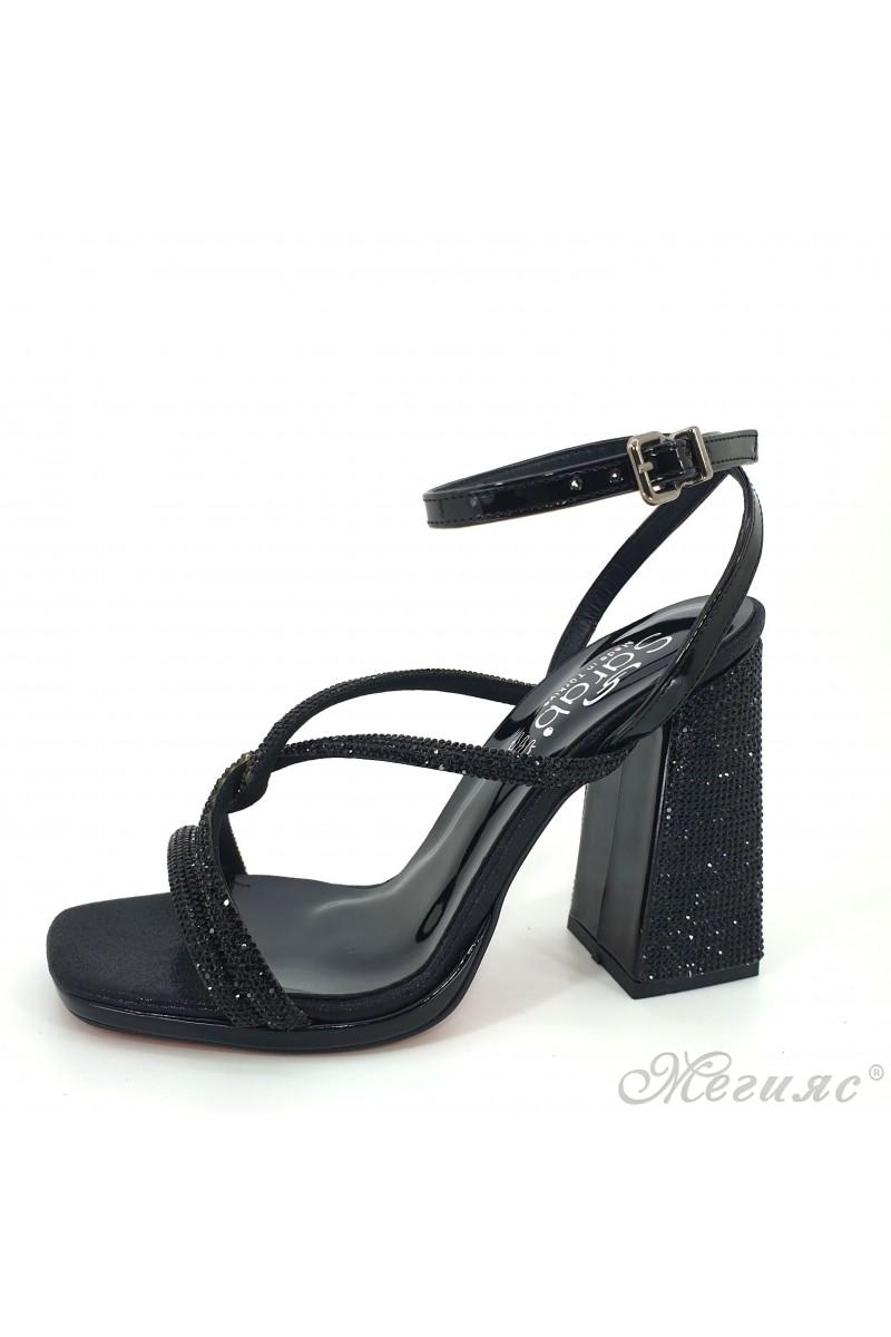1794 Lady sandals black high heels