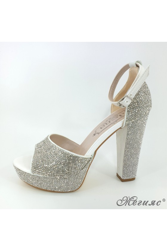 171 Lady sandals silver...