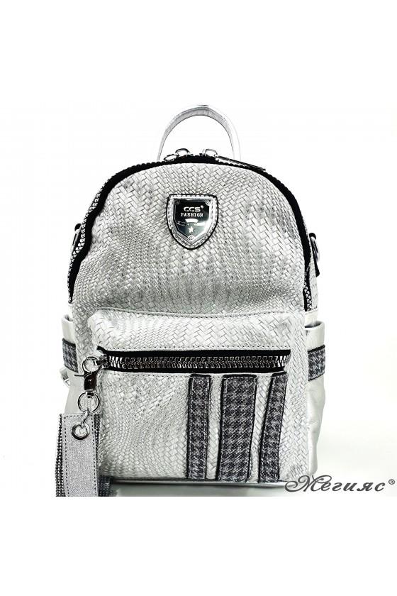 Lady bag silver 16350