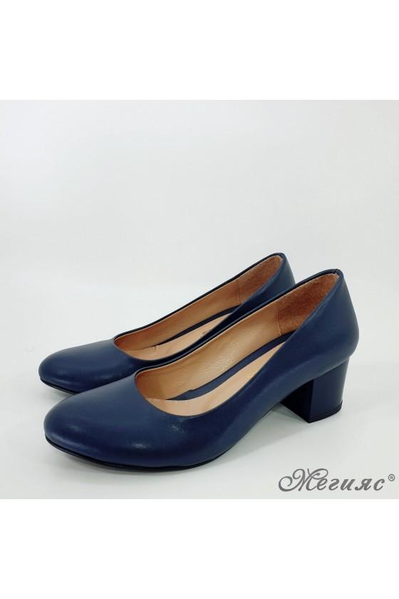 Lady shoes blue 903