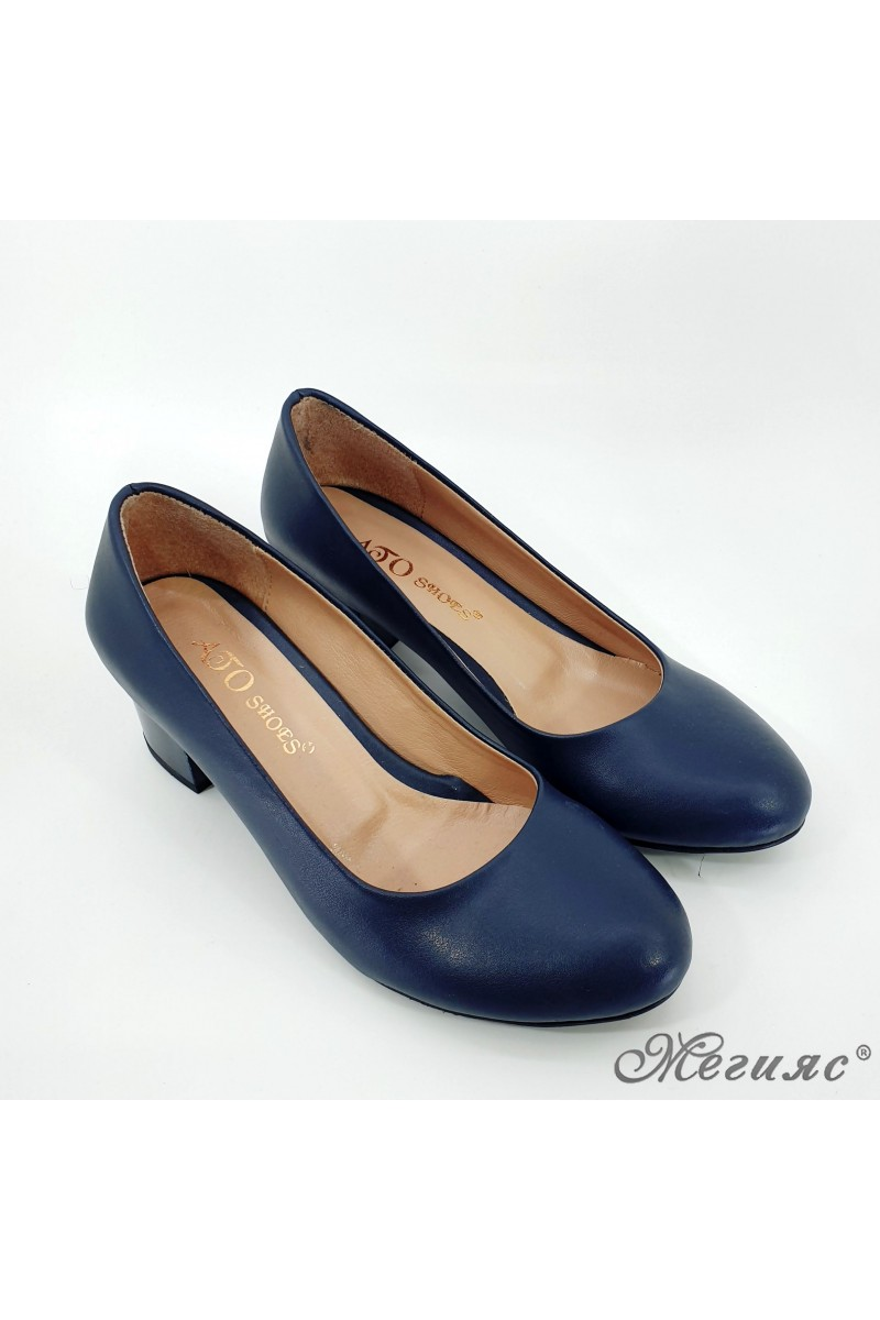 903 Дамски обувки черни еко кожа