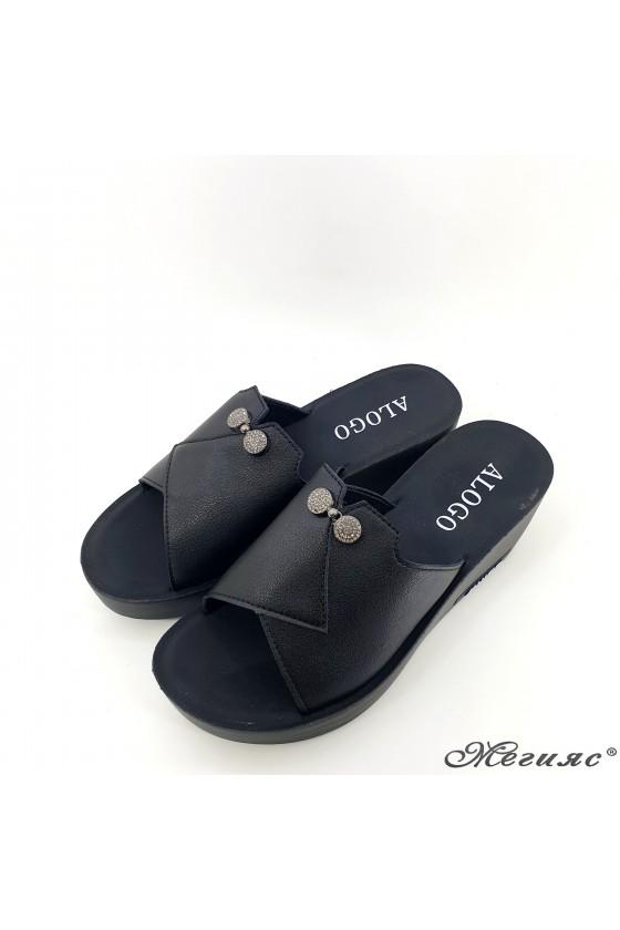 Lady slippers black 93-1