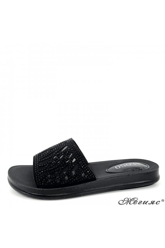 Lady slippers black 78-1