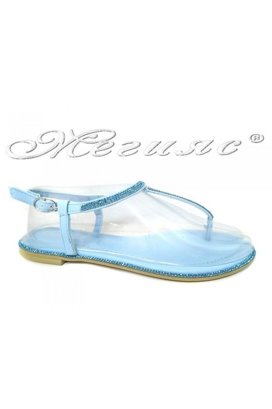 Women sandals  LINDA 20S16-352 blue pu